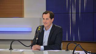 Nicolas Bay, Secrétaire général du Front National. (RADIO FRANCE / JEAN-CHRISTOPHE BOURDILLAT)