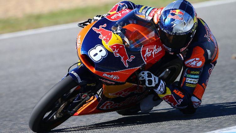 Jack Miller (KTM/team Ajo) en moto3 (DAVID GOLDMAN)