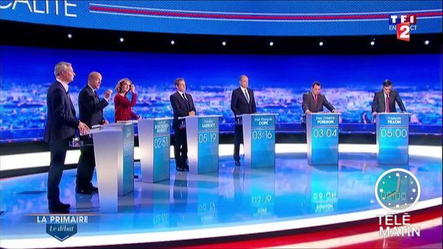 Primaire à droite : un premier débat convenu