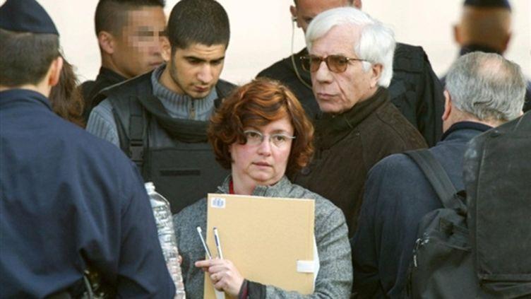 La juge d'instruction Catherine Giudicelli en 2003, lors d'une reconstitution à Vitry-sur-Seine. (© AFP)