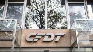 Le siège de la CFDT à Paris, le 21 novembre 2019. (MAXPPP)