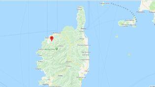 La Haute-Corse a connu une vingtaine de départs de feu depuis samedi 23 février 2019. (CAPTURE ECRAN GOOGLE MAPS)