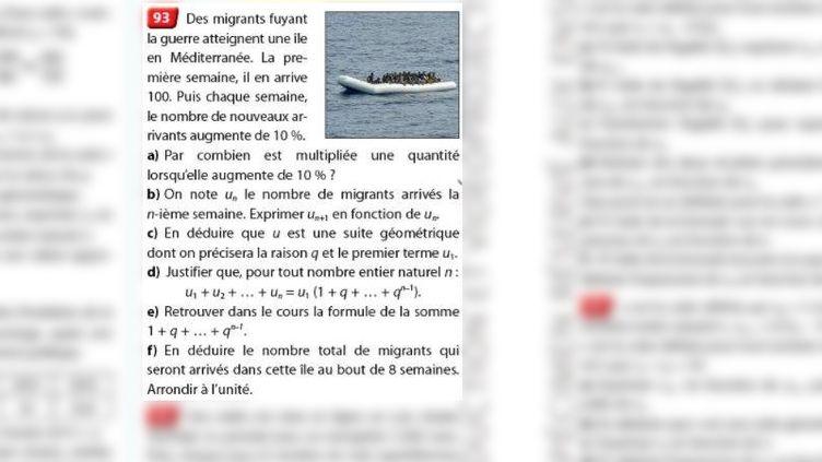 L'exercice 93, page 34 du manuel de mathématiques de Terminale ES-L de la collection Hyperbole. (NATHAN)
