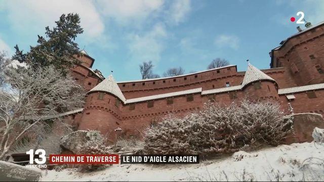 Le château du Haut-Koenigsbourg, un nid d'aigle en Alsace