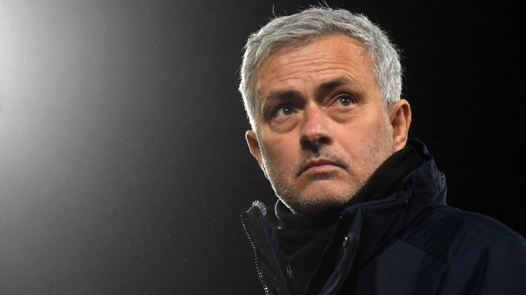 José Mourinho a été limogé de Tottenham, lundi 19 avril 2021. (NEIL HALL / POOL)