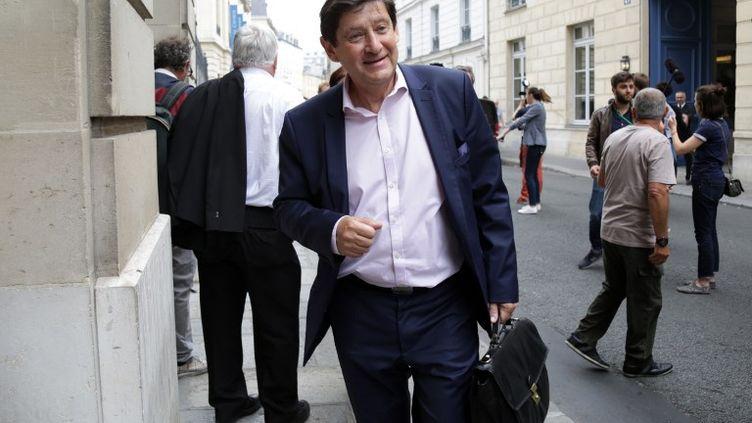 Patrick Kanner, le 24 juin 2017, à Paris. (ZAKARIA ABDELKAFI / AFP)