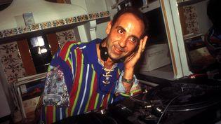 Le DJ José Padilla en 1994 au Café del Mar, à Ibiza (TONY DAVIS / AVALON (IN PROCESS) / MAXPPP)