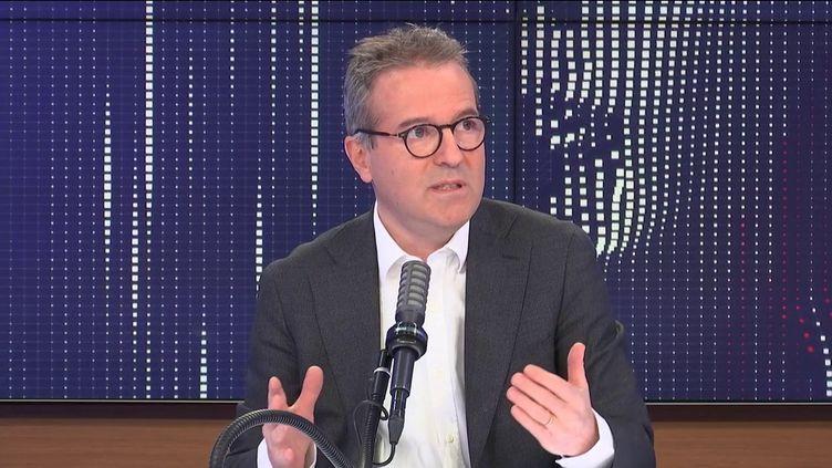 Martin Hirsch était l'invité de franceinfo lundi 3 mai. (FRANCEINFO / RADIOFRANCE)