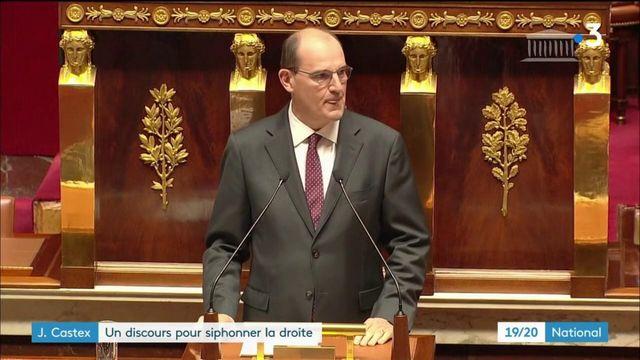Discours de politique générale : Jean Castex a-t-il voulu siphonner la droite ?