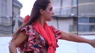 Florencia Deleria danse avec Tchanelas  (France3/culturebox)