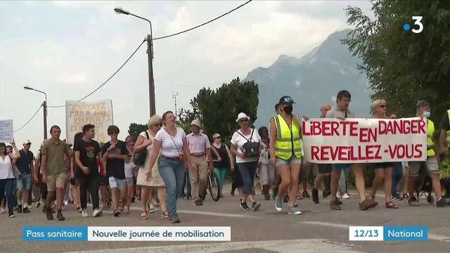 Pass sanitaire : nouvelle journée de mobilisation des antis