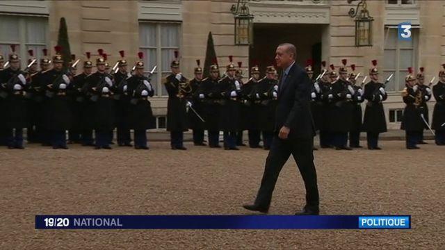 Visite d'Erdogan en France : Emmanuel Macron a évoqué la question des droits de l'Homme