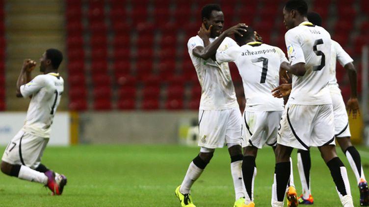Les Ghanéens à la fête (BEHROUZ MEHRI / AFP)