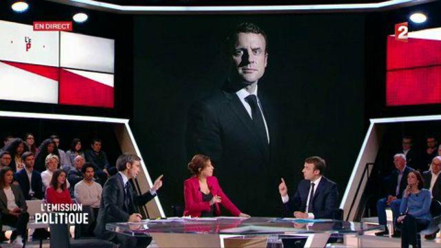 """Macron : """"Je ne suis pas quelqu'un qui aime l'argent"""""""