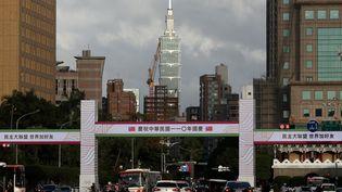 Tiapei (Taiwan), le 6 octobre 2021. (MAXPPP)