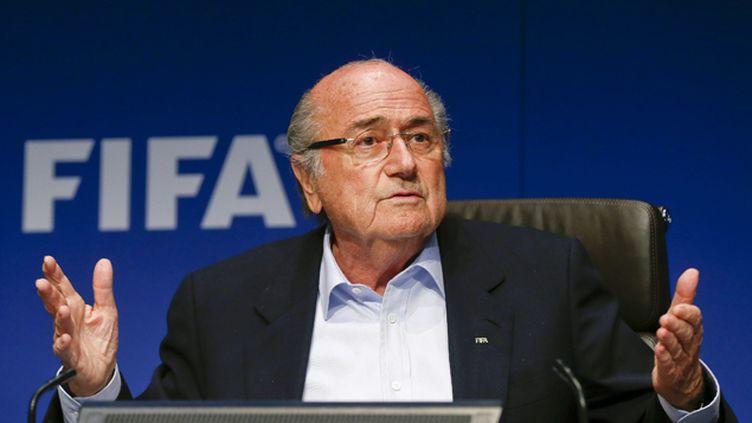 (Joseph Blatter, président de la Fifa © REUTERS / Arnd Wiegmann)