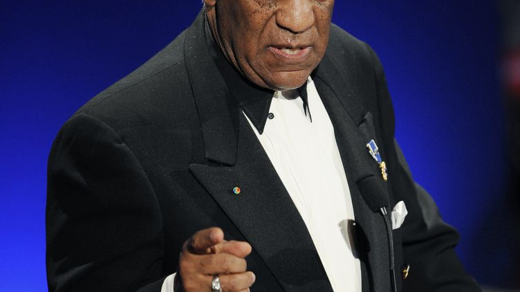 L'acteur Bill Cosby lors d'un dîner de gala à New York (Etats-Unis), le 16 mars 2009. (STAN HONDA / AFP)
