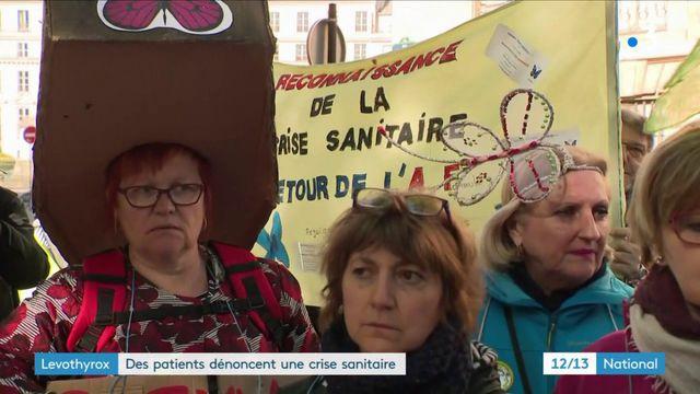 Levothyrox : des patients dénoncent une crise sanitaire