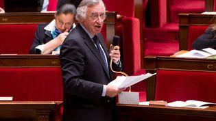 Le député socialiste Yves Durand, à l'Assemblée nationale, àParis, le 15 mars 2013. (  MAXPPP.)