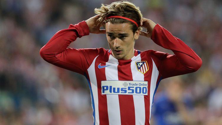 Le joueur de l'Atletico Madrid, Antoine Griezmann (RUDY / SPAINDPPI)