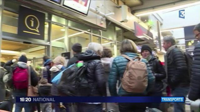 SNCF : d'où vient la panne qui paralyse le trafic Gare Montparnasse?
