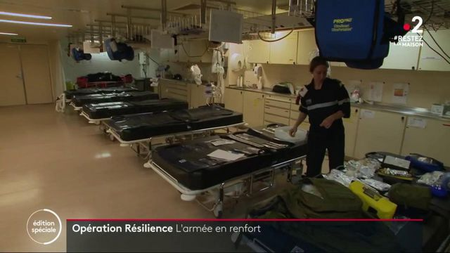 Coronavirus: l'arméeappeléeen renfort en Outre-mer
