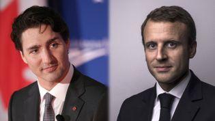 Macron/Trudeau (AFP)