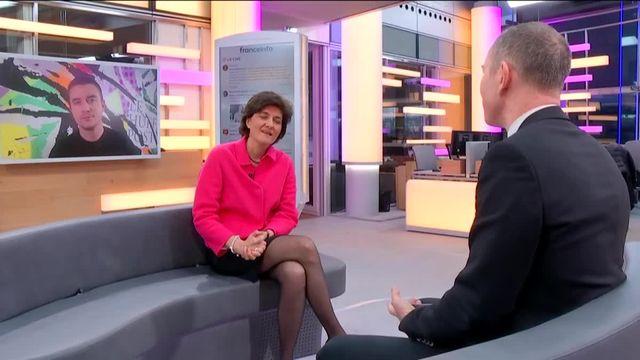 """Invitée de Stephane Dépinoy dans """":L'éco"""" lundi 30 janvier, la députée européenne Sylvie Goulard est bien consciente que l'année électorale dessinera les perspectives d'une nouvelle Europe. Pour elle le choix est fait : ce sera avec Emmanuel Macron."""