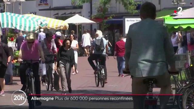 Allemagne : plus de 600 000 personnes reconfinées après la découverte d'un foyer épidémique