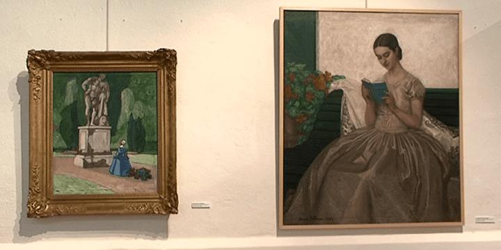 L'artiste originaire du Lauragais était également portraitiste.  (capture d'écran France 3 / Culturebox)