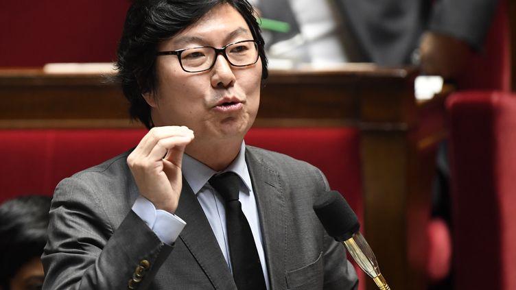 Jean-Vincent Placé, alors secrétaire d'État, le 24 janvier 2017, à l'Assemblée nationale. (BERTRAND GUAY / AFP)