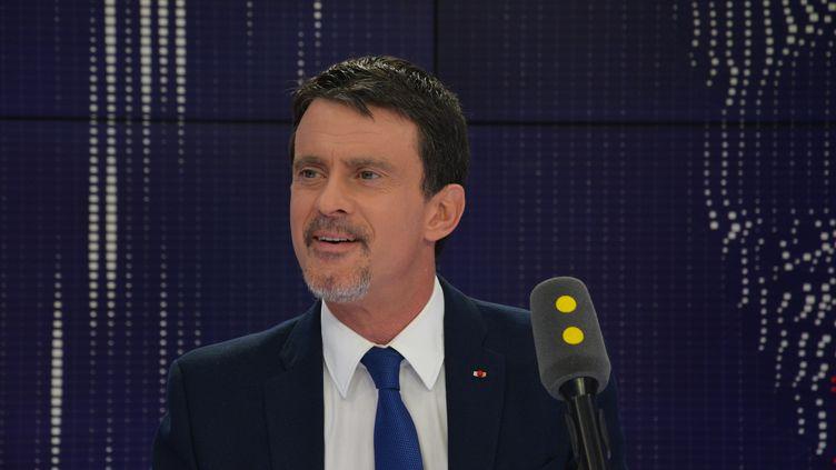 Manuel Valls,ancien Premier ministre; (JEAN-CHRISTOPHE BOURDILLAT / RADIO FRANCE)