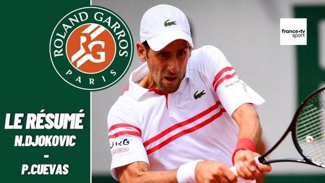 Les meilleurs moments du match Novak Djokovic - Pablo Cuevas