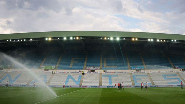 Les tribunes du stade du FC Nantes