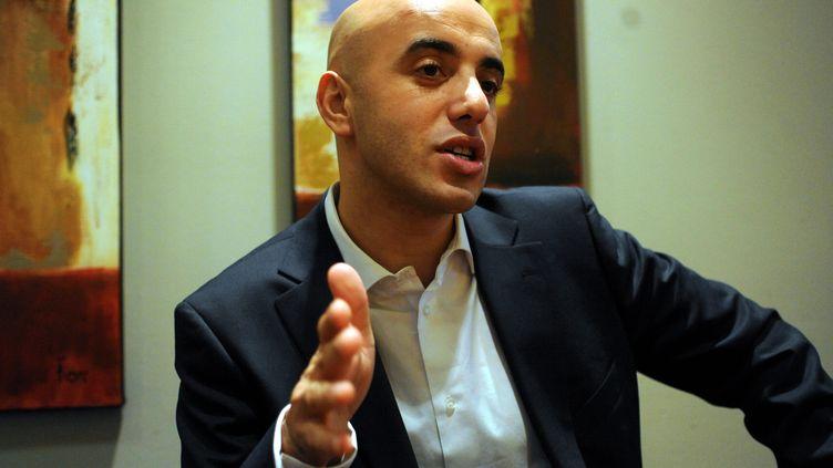 """Redoine Faïd, photographié ici le 22 novembre 2010, lors de la sortie de son livre """"Braqueur : des cités au grand banditisme"""". (MAXPPP)"""