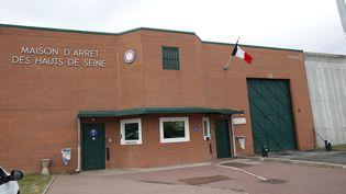 L'entrée de la maison d'arrêt de Nanterre (Hauts-de-Seine) le 25 avril 2014. (THOMAS SAMSON / AFP)