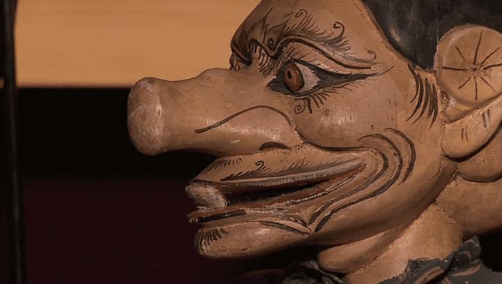 L'une des 500 marionnettes de la colletion Gomond.  (France 3 / Culturebox)