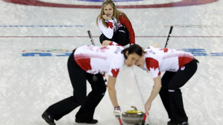 L'équipe de Curling du Canada.