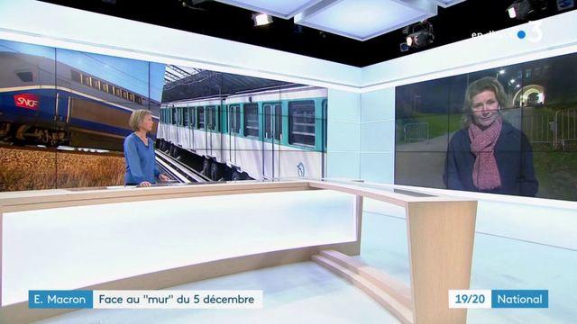 """Grève : Emmanuel Macron face au """"mur"""" du 5 décembre"""