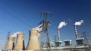 Une usine à charbon à Huai'an, en Chine, le 8 février 2015. (ZHOU CHANGGUO / IMAGINECHINA / AFP)