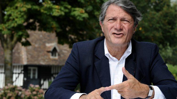 Philippe Augier, maire de Deauville, le 20 septembre 2009. (STÈPHANE GEUFROI / MAXPPP)