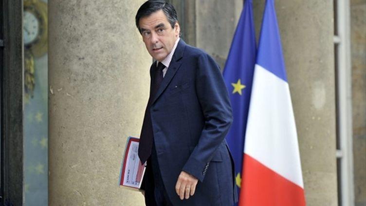 Le premier ministre, François Fillon. (AFP PHOTO / BERTRAND LANGLOIS)