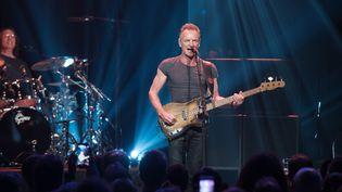 Sting sur la scène du Bataclan le 12 novembre  (David Wolff Patrick)