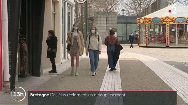 Covid-19 : des élus de Bretagne réclament un assouplissement des mesures sanitaires