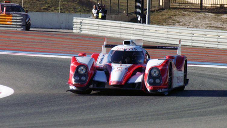 La Toyota TS030 en essais au Paul Ricard