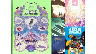 PARFOIS, UNE BONNE BD VAUT MIEUX QU'UN LONG DISCOURS (JEREMIE MOREAU, 2024 / LEA MAZE, LA GOUTTIERE / LEA MAZE, LA GOUTTIERE / LEA MAZE, LA GOUTTIERE / JULIEN NEEL, GLENAT / ALEXANDER UTKIN, GALLIMARD BANDE DESSINEE)