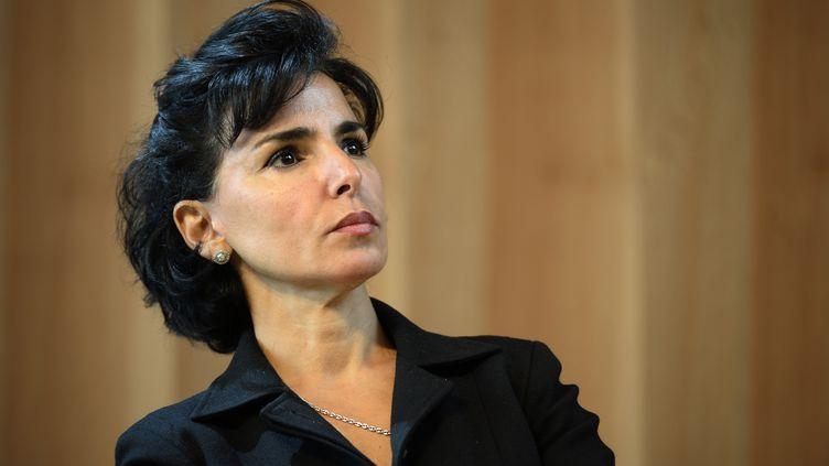 Rachida Dati, le 6 octobre 2014, à Paris. (LIONEL BONAVENTURE / AFP)