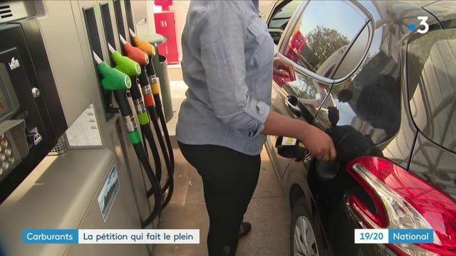 Carburants : une pétition contre la hausse des prix