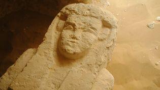 Un des sarcophages vieux de 2000 ans découverts dans le sud de l'Egypte, en août 2017.  (Ministère des Antiquités égyptiennes /AFP)