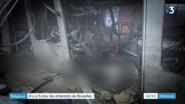 22 mars 2016 : la Belgique toujours marquée cinq ans après les attentats de Bruxelles